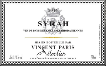 Vincent Paris Syrah 2019